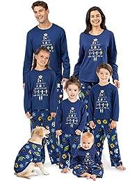 Star Wars Family Pajamas Fun Christmas Pajamas Blue