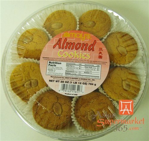 Amay's Almond Cookies 28oz. (Best Chinese Almond Cookies)