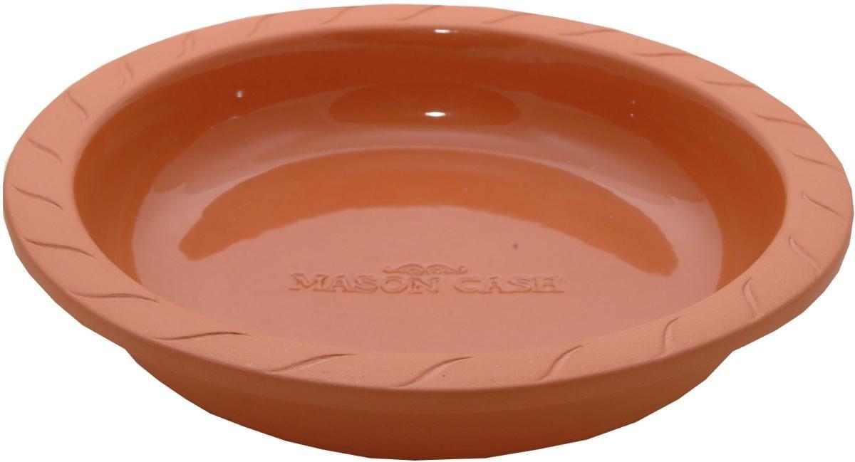 Mason Cash - Fuente Redonda de Barro para Horno (24 cm): Amazon.es ...