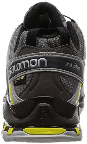 Salomon Xa Pro 3d Gtx, Gli Uomini Di Trekking E Scarpe Da Metà Grigi (autobahn / Alluminio / Corona Gialla) Escursioni