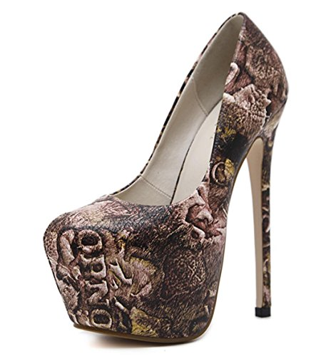 High Braut Party Heels Schuhe Zehe Temperament HETAO Heels elegante Pumps Printing Spitz Frauen Damen Schuhe Persönlichkeit wt1nqUa4