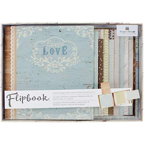 Paper House Productions FB-0004E Flipbook Interactive Album, Wedding Day ()