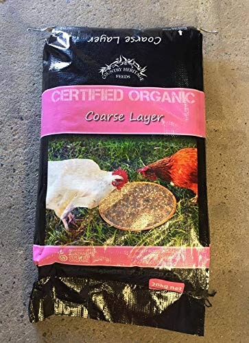 COUNTRY HERITAGE Organic COARSE Layer 20KG(Grain Mix) (POCL20)