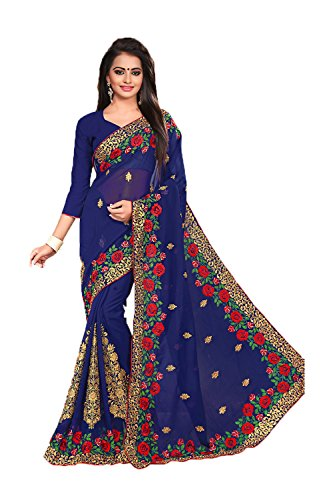 ses-navy-blue-saree-with-beautiful-embroidered-pallu-77498