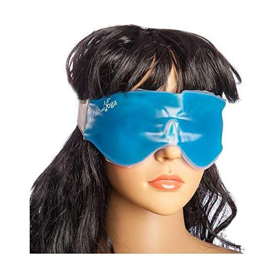 HealthAndYoga Relaxing Gel Eye Mask
