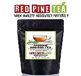 Organic Rooibos Tea Red Bush Tea, Aspalathus linearis, Decaffeinated Caffeine Free - Premium Loose Leaf Tea (1oz)