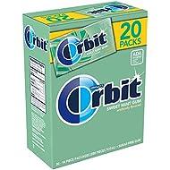 ORBIT Sugar Free Sweet Mint Chewing Gum, 14 Pieces (20 Packs)