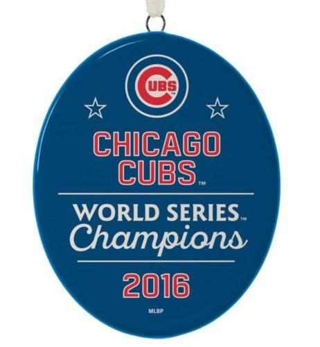 HALL 2016 World Series Champions Chicaco Cubs Hallmark Christmas Ornament
