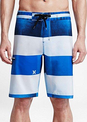 Hurley Phantom Kingsroad Light Mens Boardshorts 30 Fountain (Hurley Plaid Shorts)
