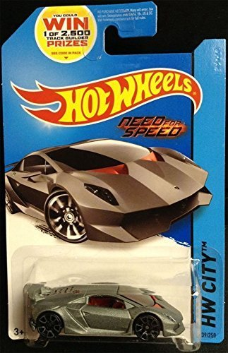 HOT WHEELS LAMBORGHINI SESTO ELEMENTO NEED FOR SPEED SERIES DIE CAST  COLLECTIBLE, HOT WHEELS