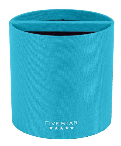 Five Star Locker Accessories, Split Pencil Cup, Magnetic, Teal (72896)