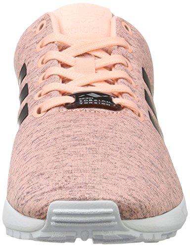 Flux Femme Rose Adidas Basses Zx Coral haze Baskets White Black core ftwr HBxqfSwqgp