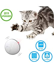 Nanja Interactive Cat Toys Ball-Automatic Pet Toy Jumping Ball – Cat Rolling Balls Motion Activated Funny Toy for Cats Dogs Small Pets Including LED Light