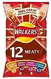 Walkers Meaty Variety Crisps 25g x 12 per pack