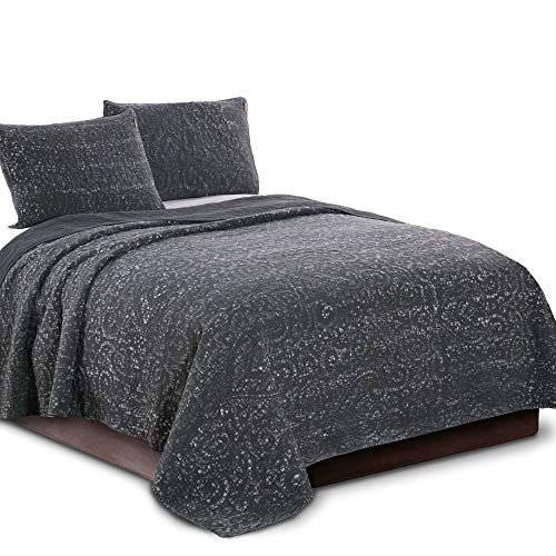 Kasentex Ultra Soft Stone-Washed Quilt Set 100%