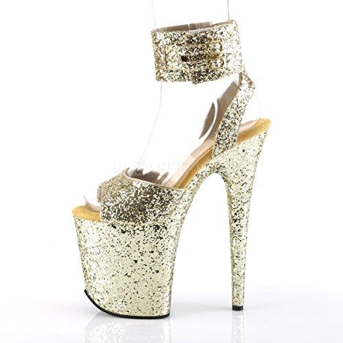 GG GG Sandals 891LG FLAMINGO Pleaser Womens v8q4p8t