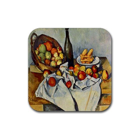 Basket of Apples By Paul Cezanne Coaster (Set of 4) ()