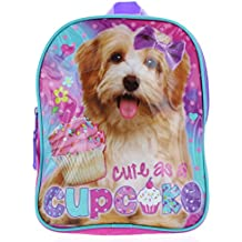 """""""Cute as a Cupcake"""" Dogs 10"""" Mini Backpack - Puppy Toddler Backpack"""