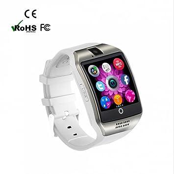 Reloj Inteligente Smartwatch,ranura para tarjeta SIM,Facebook WhatsApp Sync SMS,Pulseras Actividad,Pódometro,Control de Musica,Pulsera Inteligente con ...