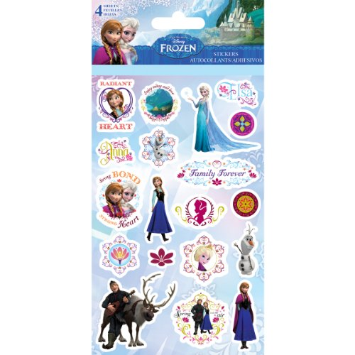 Sandylion ST2545 Disney Sticker, Frozen, (Frozen Halloween Ideas)