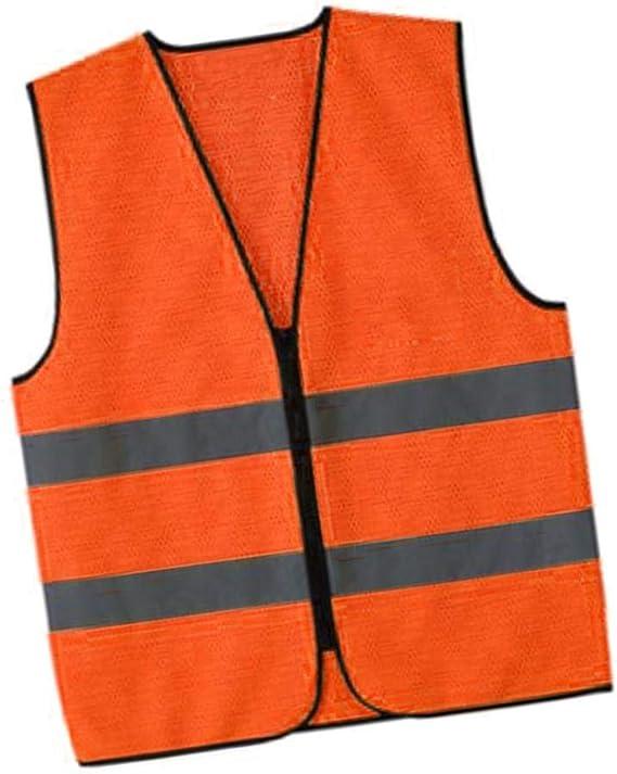 B Baosity Auto Warnwesten Wasserdicht Sicherheitsweste Reflektierende Warnschutzweste f/ür Auto Fahrrad Motorrad