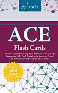 Ace certified personal trainer exam prep 2018 edition study guide ace personal trainer exam prep book of flash cards ace cpt review with 300 m4hsunfo