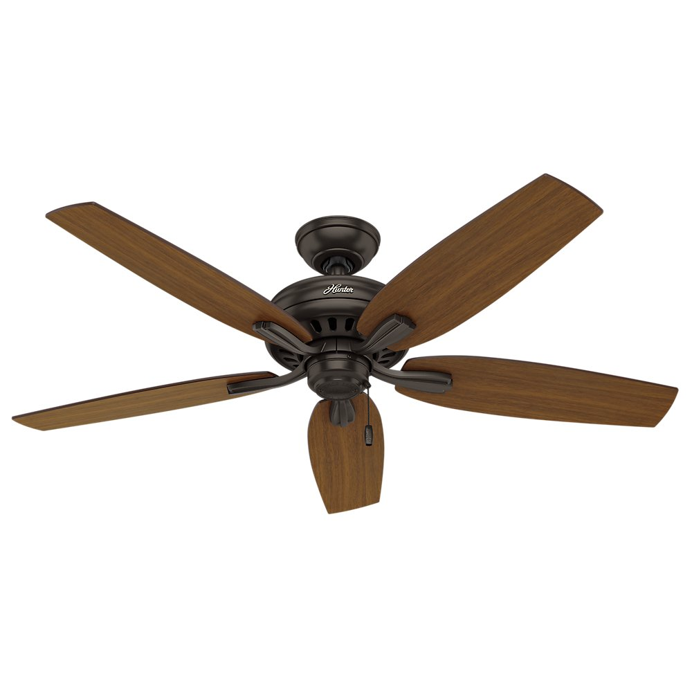 Hunter 53323 52'' Newsome Ceiling Fan, Premier Bronze