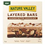 NATURE VALLEY Layered Bars, Almond Butter Chocolate Flavour, 156g