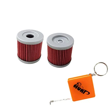 Amazon com: HURI 2 Motorcycle Oil Filter for Suzuki DRZ400