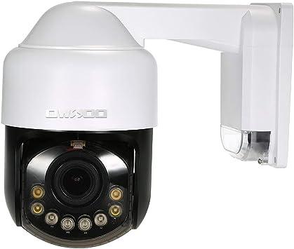 Opinión sobre OWSOO 1080P Cámara IP 4G, Lente de Zoom Óptico 2.8-12 mm, Soporta 4G/GSM Network, PTZ, Alarma de Movimiento, Control de Phone, Audio Bidireccional, Vision Nocturna, Ranura para Tarjeta TF, Impermeable