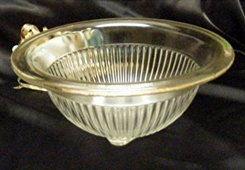Federal Glass Large Vintage Mixing Bowl