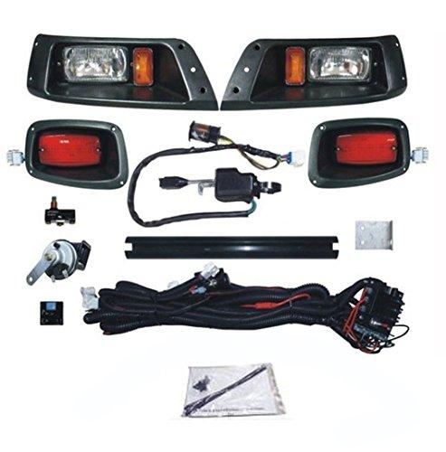 NEW EZ-GO TXT Deluxe Light Kit Street Legal Turn Signals Headlights - LED Taillights - Horn - Brakes - Turn Signals 1996-2013