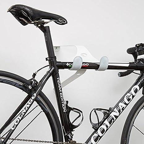 Bicicleta pared Cactus Tongue uni-ball X de acero pulverizado – Diseño Soporte de pared con piel protectores para carreras, Single Speed, Fixie – Aprox. 48 x 28 x 22 cm: Amazon.es: Deportes