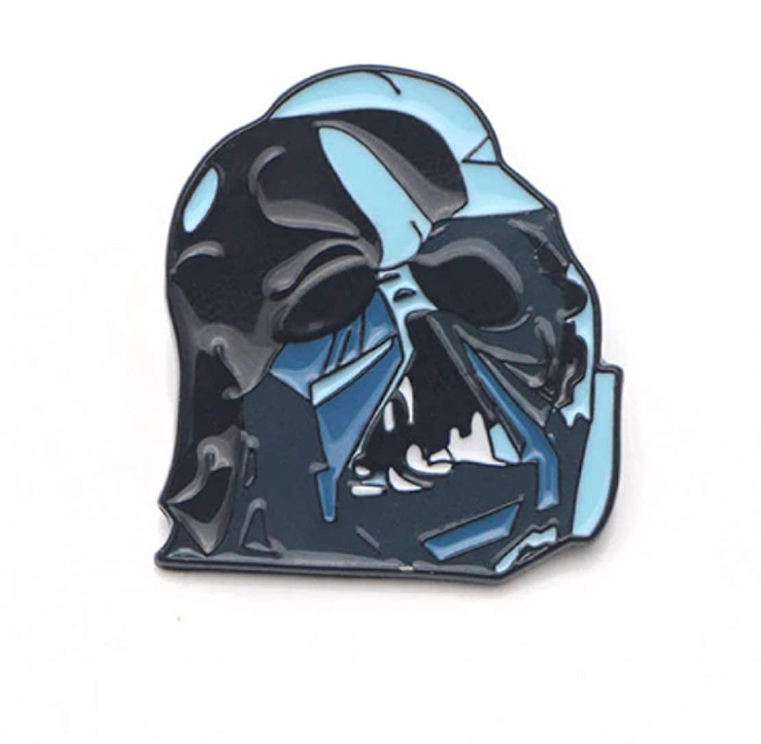FTH Star Wars Darth Vader Evil Mastermind Black /& Blue Enamel 1.25 Pin.Gorgeous Enamel Pin is RAD on a Denim Jacket or Back Pack