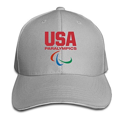 HAOXIN USA Paralympics Team 2016 Rio Summer Olympics Snapback Caps Peaked Baseball Hat (Olympic Beret)