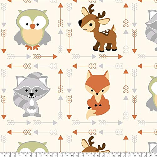 David Textiles Fleece Fabric - 2 Yards (Buddies)