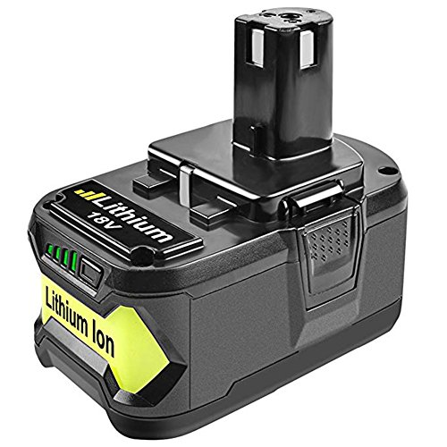 Bonadget Replacement Ryobi 18V Battery 4.0Ah Lithium Ion for ONE Plus P102 P108 P107 P105 P104 P109 Cordless Power Tools Battery Pack (4.0Ah) by Bonadget