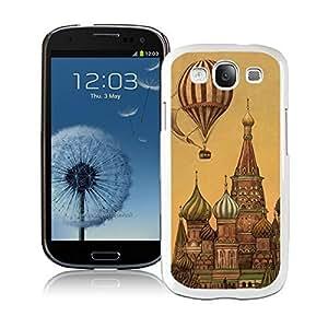Samsung Galaxy S3 Case Classic Top Art Design Funny Slim White Cell Phone Case Cover by icecream design
