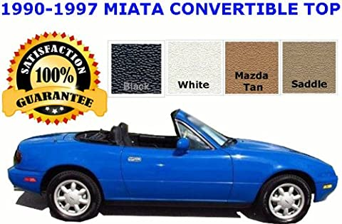 Mazda Miata Convertible Top and Glass Window | PREMIUM RAINRAIL | COLOR CHOICE | INSTALL VIDEO