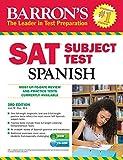 Best Barron's Educational Series Spanish Textbooks - Barron's SAT Subject Test Spanish, 4th Edition: Review