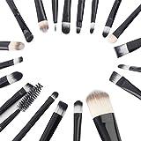 20 piezas de cepillo de maquillaje Set Premium blending ojos rubor líquido en polvo crema cosméticos cepillo herramienta