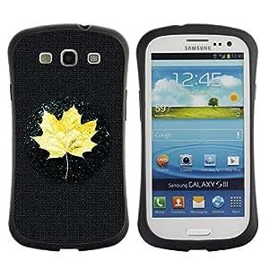 Suave TPU GEL Carcasa Funda Silicona Blando Estuche Caso de protección (para) Samsung Galaxy S3 I9300 / CECELL Phone case / / Yellow Maple Leaf /
