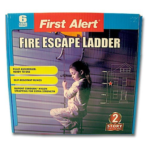 7. First Alert 14 ft. Fire Escape Ladder
