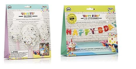 amazon com npw usa make your own confetti balloons and happy