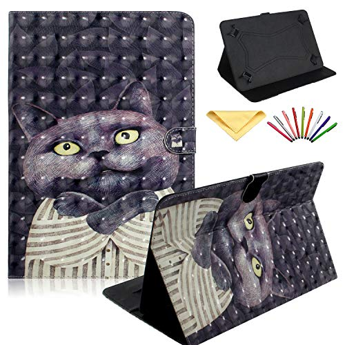 Universal Case for 7 inch Tablet, Uliking Stand Wallet Cover for Samsung Galaxy Tab A/2/3/4/E 7.0, Tab 3/Tab E Lite 7.0 for Lenovo Tab ASUS zenpad/LG G/Xiaomi PAD/Mediapad 6.5