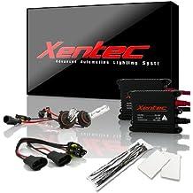 XENTEC 9006 5000K 55W Advanced Slim Ballast HID Xenon Kit (HB4, OEM White)
