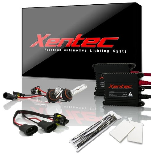 XENTEC 9006 6000K 55W Advanced Slim Ballast HID Xenon Kit (HB4, Ultra White)