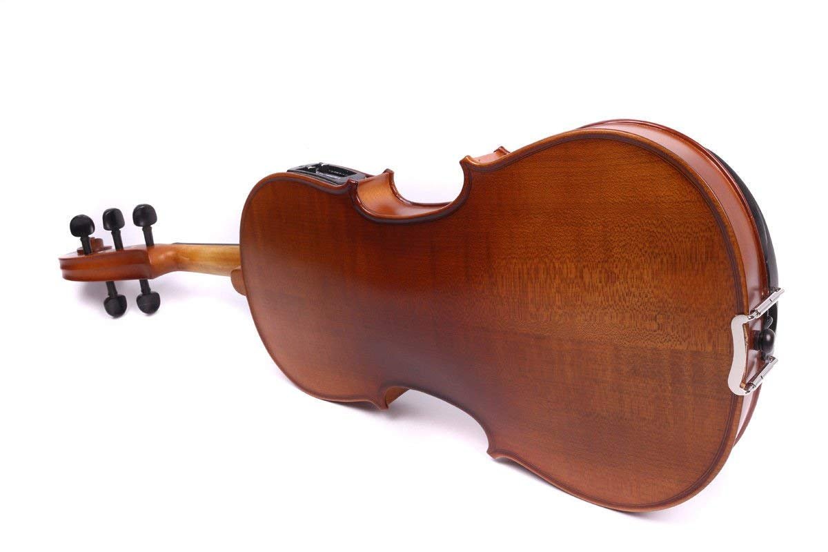 Yinfente 4/4 violin 5 string Electric violin Full size Maple Spruce wood Big jack Ebony wood Violin parts Sweet Sound by yinfente (Image #8)