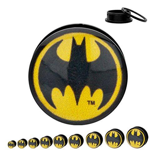 batman 2 gauge ear plugs - 5
