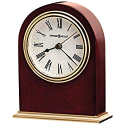 Universal Lighting and Decor Howard Miller Craven 4 3/4 High Tabletop Clock